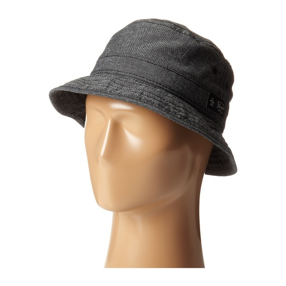 NWT Original Penguin Grey Bucket Hat e368800cc3a